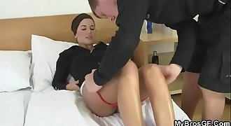 Cheating bitch takes new dick