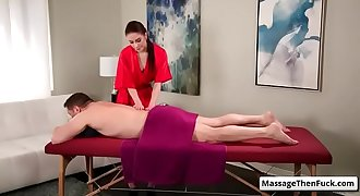 Fantasy Sex Massage - Unfaithfully Yours with Anna De Ville massage video-01