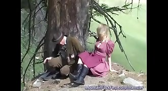 Find a slut at 3mystuff.com - german Milf anal fucked in the mountains
