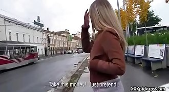 Public Blowjob For Horny Tousrist From Euro Teen D/s 35