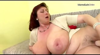 mature mom with big tits met her at - MomsFuck.Online