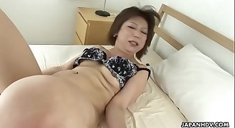 Brunette is restrained for the perverse pussy and ass stimulation